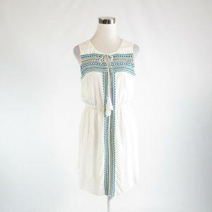 Kenji white sleeveless sheath dress 6